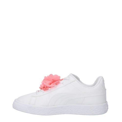 6bdf982b7b7 Puma Basket Flower AC PS sneakers wit (wit) | 368951_01 | Puma