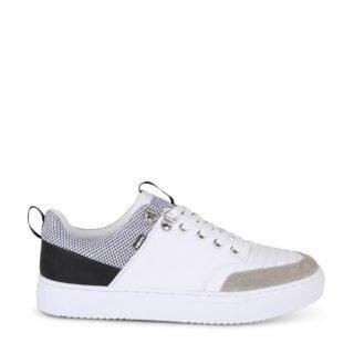Mexx Bronson sneakers wit/grijs (wit)