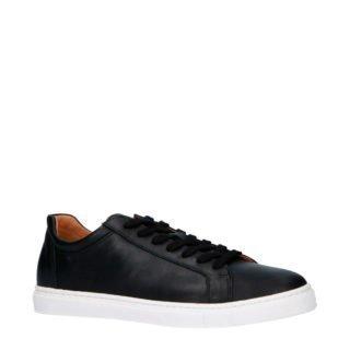 SELECTED HOMME SLHDAVID LEATHER TRAINER W leren sneakers zwart (zwart)
