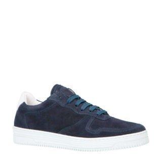 Bianco bfbemji suède sneakers donkerblauw (blauw)