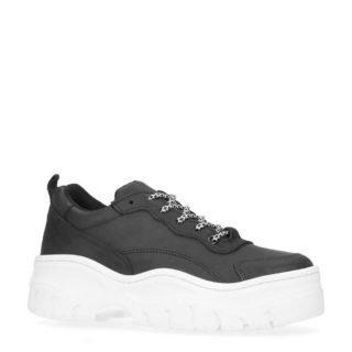 Sacha leren sneakers zwart (zwart)