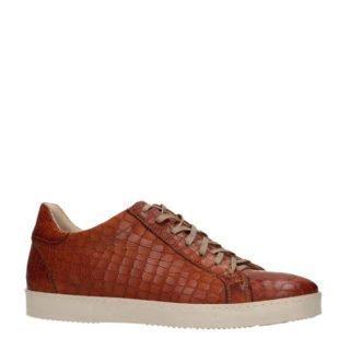 Manfield Black Label leren sneakers bruin (bruin)