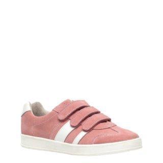 TwoDay suède sneakers roze/wit (roze)