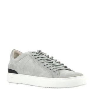 Blackstone leren sneakers grijs (grijs)