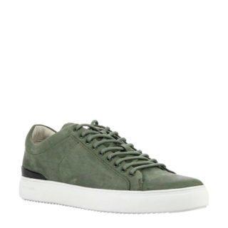 Blackstone nubuck sneakers groen (groen)