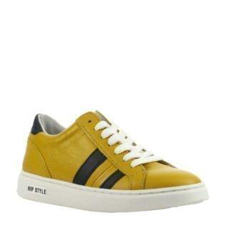 Hip H1750 leren sneakers okergeel (geel)