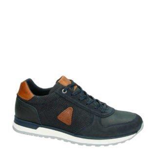 Gaastra Kai leren sneakers (blauw)