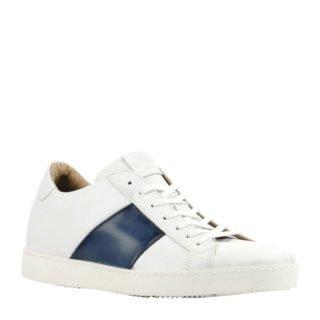 Giorgio 1958 leren sneakers wit (wit)