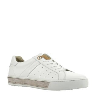 Giuseppe Maurizio leren sneakers wit (wit)
