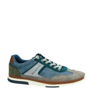 Bugatti leren sneakers blauw (blauw)
