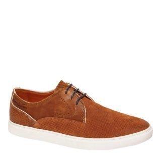 Van Lier suède sneakers coganc (bruin)