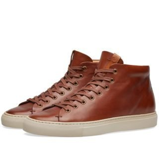 Buttero Tanino Mid Sneaker (Brown)