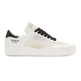 Article No. White and Translucent Deconstructed 0517 Sneakers