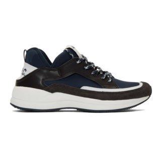 A.P.C. Navy Alvin Sneakers