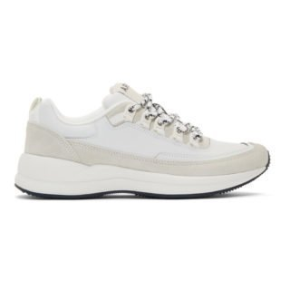 A.P.C. White Techno Homme Sneakers