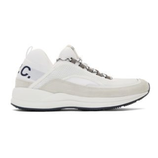 A.P.C. White Alexander Sneakers