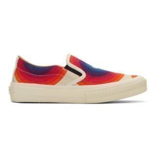 Dries Van Noten Off-White Verner Panton Edition Canvas Sneakers
