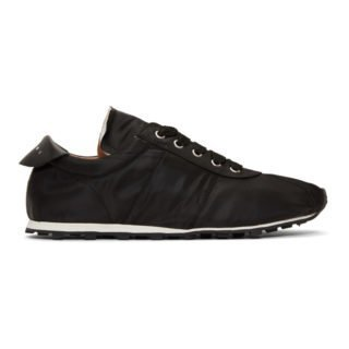 Marni Black Technical Canvas Sneakers