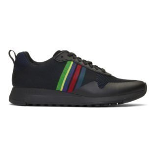PS by Paul Smith Black Cycle Stripe Rappid Sneakers