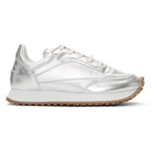 Comme des Garcons Comme des Garcons Silver Spalwart Edition Tempo Low Sneakers