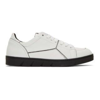 Loewe White Puzzle Sneakers