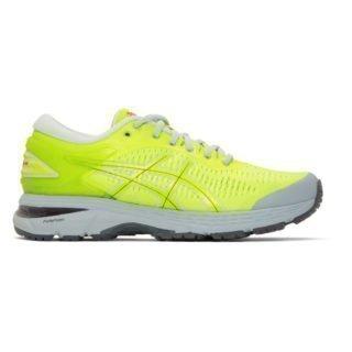 Harmony Yellow and Grey Asics Edition Gel-Kayano 25 Sneakers