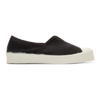 Spalwart Black Special V Slip-On Sneakers