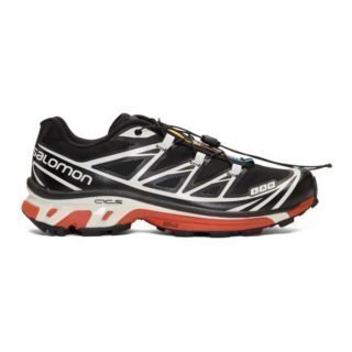 Salomon Black and White S/Lab Softground LT ADV Sneakers
