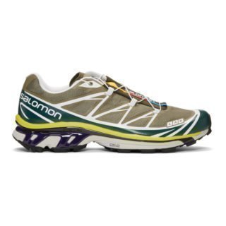 Salomon Green S/Lab XT-6 SoftGround LT ADV Sneakers