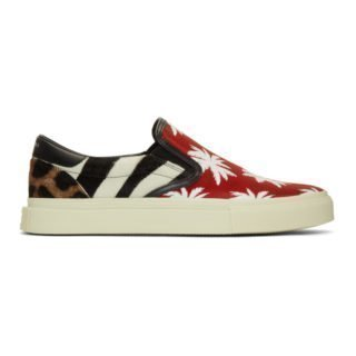 Amiri Multicolor Patchwork Sneakers