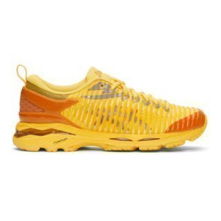 Kiko Kostadinov Yellow Asics Edition Gel-Delva Sneakers