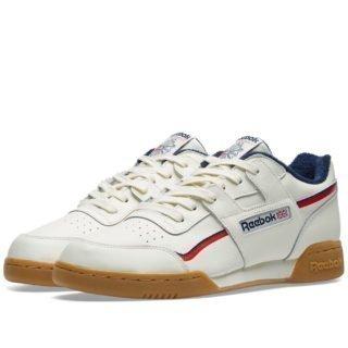 Reebok Workout Plus Vintage Gum (White)