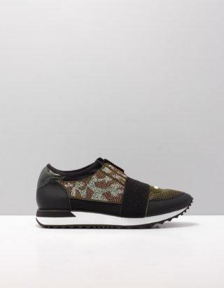 Miss Behave Sneakers khaki