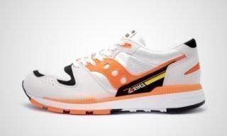 Quick Azura (Wit/Oranje) Sneaker