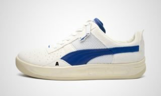 X Ader Error California (beige/Blauw) Sneaker