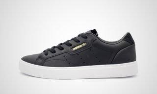 Sleek W (Zwart/Wit) Sneaker