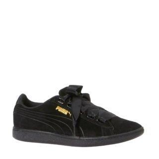 Puma Vikky Ribbon S sneakers (zwart)