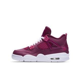 Air Jordan 4 Retro Kinderschoen - Paars Paars