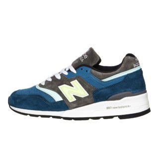 "New Balance M997 PAC Made in USA ""Military Pack"" (blauw/groen)"