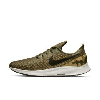 Nike Air Zoom Pegasus 35 Hardloopschoen met camouflageprint voor heren - Olive Olive
