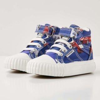 British Knights dee baby jongetjes sneakers hoog - blauw - maat 20 (blauw)