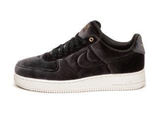 Nike Air Force 1 '07 PRM 3 (Black / Black - Sail - Metallic Gold)