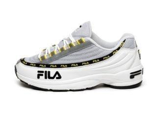 FILA DSTR 97 (White / Gray Violet)