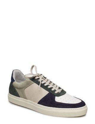 Filippa K M. Robert Low Mix Sneaker wit