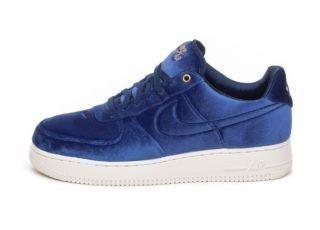 Nike Air Force 1 '07 PRM 3 (Blue Void / Blue Void - Sail - Metallic G