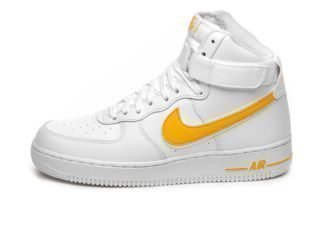 Nike Air Force 1 High '07 3 (White / University Gold)
