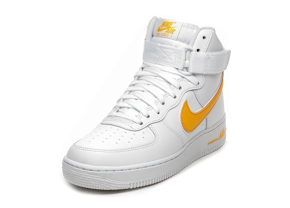 new styles 80937 dab4e Nike Air Force 1 High  07 3 (White   University Gold)