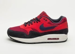 Nike Air Max 1 (Red Crush / Midnight Navy - University Red)