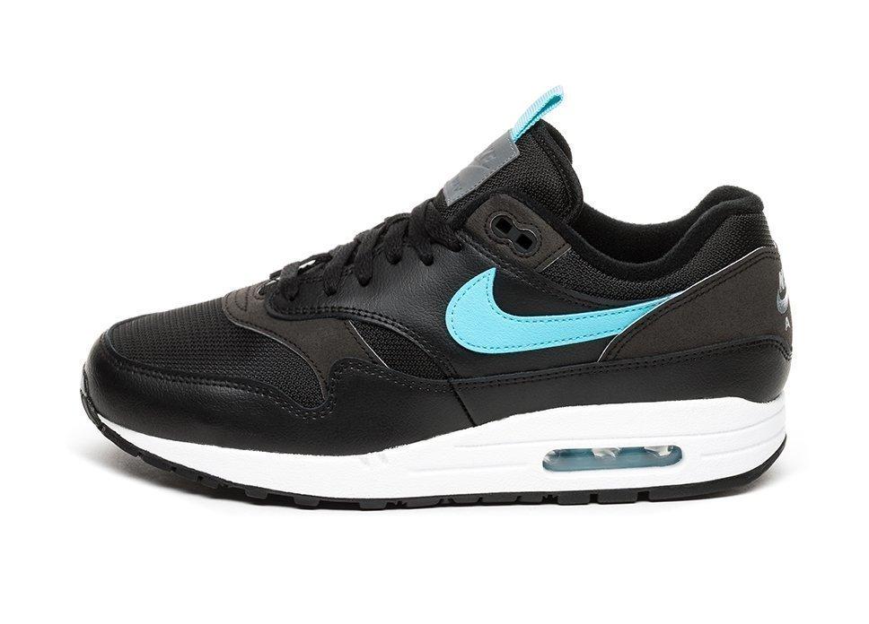6eeea1b55dc Nike Air Max 1 SE (Black   Blue Fury)