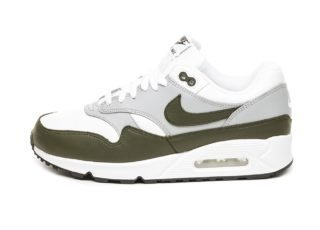 Nike Air Max 90/1 (White / Cargo Khaki - Black)